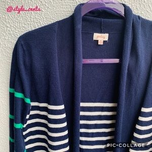 Pixley Soft Striped Cozy Cardigan